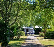 emplacement arboré camping Finistère