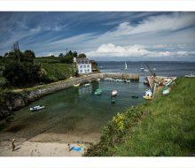 Camping Du Pouldu : île de Groix port