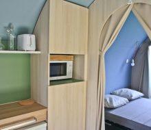 Camping Du Pouldu : location coco suite chambre