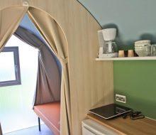Camping Du Pouldu : location coco suite cuisine