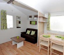 Camping Du Pouldu : mobilhome salon