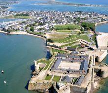 Camping Du Pouldu : Lorient vue aérienne