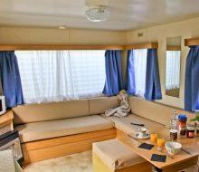 Camping Du Pouldu : Mobil home 4 personnes salon