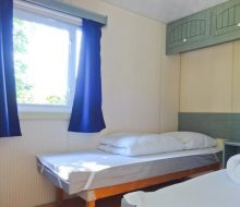 mobilhome 4/6 personnes chambre