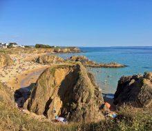 Camping Du Pouldu : Pouldu plage