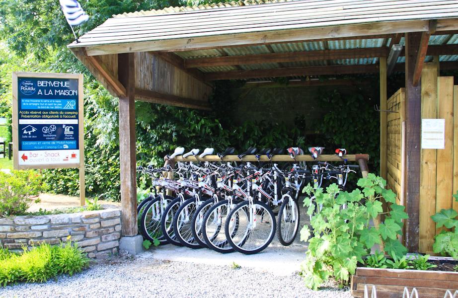 Camping Du Pouldu : Location Vélos Le Pouldu